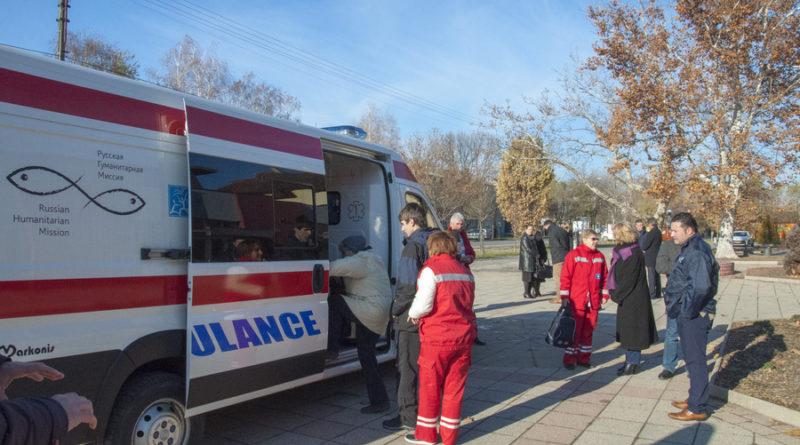 RUSKA HUMANITARNA MISIJA: Pregled pacijenata u tri opštine