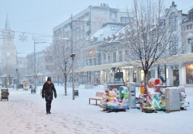FOTO GALERIJA: Centar grada pod snežnim pokrivačem