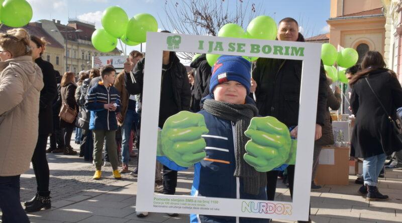 FOTO-GALERIJA MEĐUNARODNI DAN DECE OBOLELE OD RAKA: Već pet godina i naš grad se bori