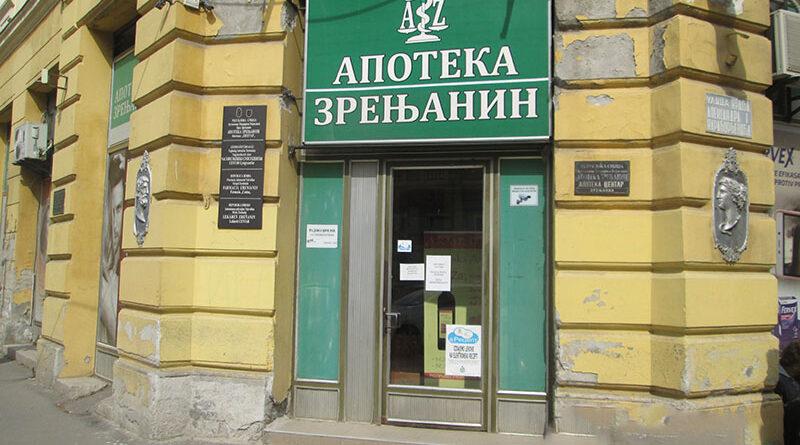 "APOTEKA ""JANKOVIĆ"" PREUZIMA OBJEKTE APOTEKE ZRENJANIN: Veći broj državnih apoteka ne radi"