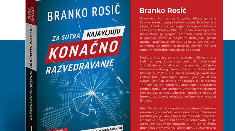 """SUTRA U KAFEU """"BIBLIOTEKA"""": Predstavljanje knjige Branka Rosića"""