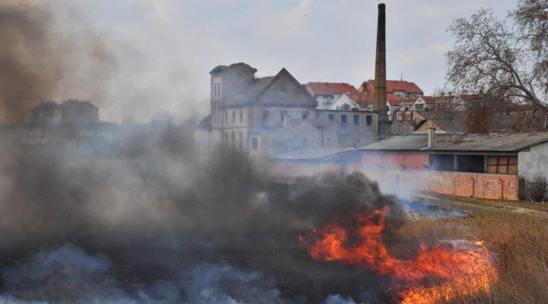 PONOVO GORELA TRSKA: Vetar odmagao vatrogascima