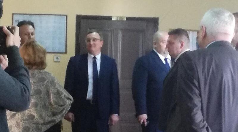 A tartományi kormány alelnökének látogatása