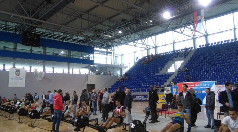 NASTUPAJU KONKURENTI ZA OLIMPIJSKU NORMU U VESLANJU: Državno prvenstvo u ergometrima
