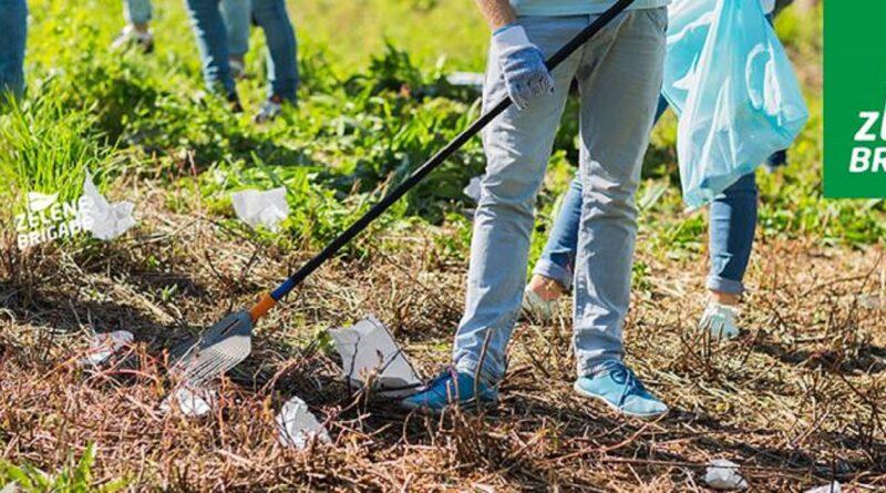 """ZELENE BRIGADE: Akcija čišćenja Mesne zajednice """"Dositej Obradović"""""""