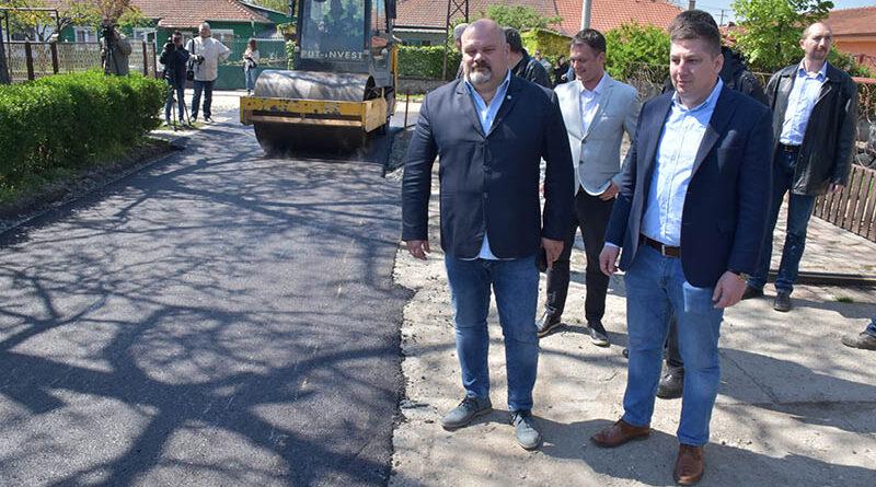 POČELA GRAĐEVINSKA SEZONA U ZRENJANINU - na redu su asfaltiranje ulica i sanacija stadiona