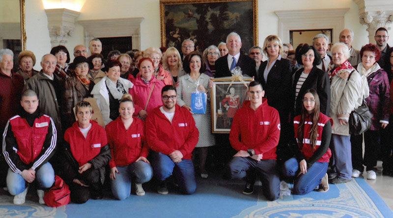 A vöröskereszt nemzetközi hete alkalmából a becskereki Vöröskereszt aktivítása