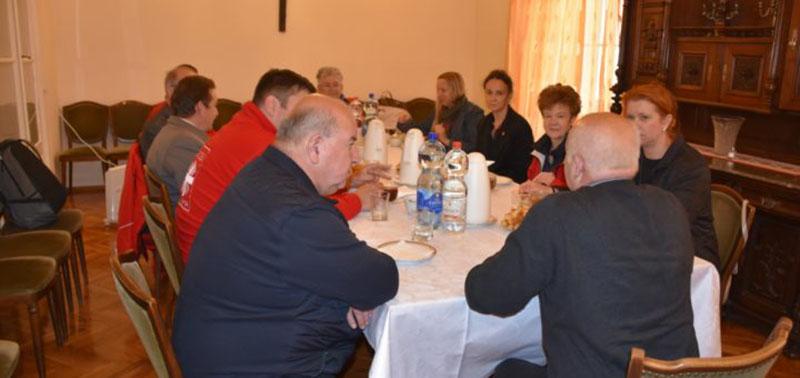 Nagybecskereki Püspökségi Caritas és a Magyar Katolikus Karitász munkatársainak találkozója