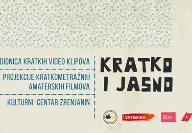 NOVI DOGAĐAJ KINO KLUBA ZRENJANIN: Superkratki filmovi u fokusu