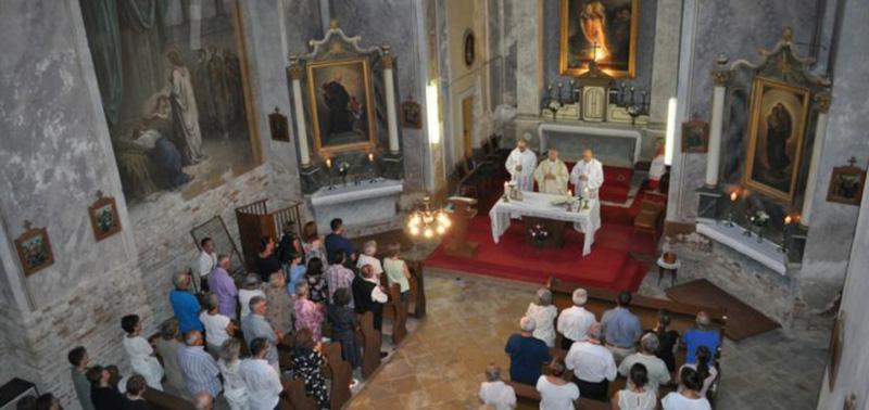 Ünnepi szentmise Szent István templomban