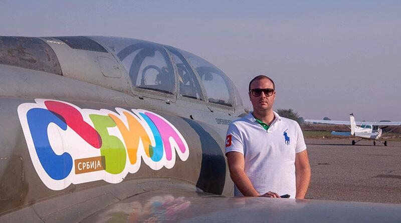 "PILOT PAVLE MARKOVIĆ NOVI PREDSEDNIK AEROKLUBA ""ZRENJANIN"""