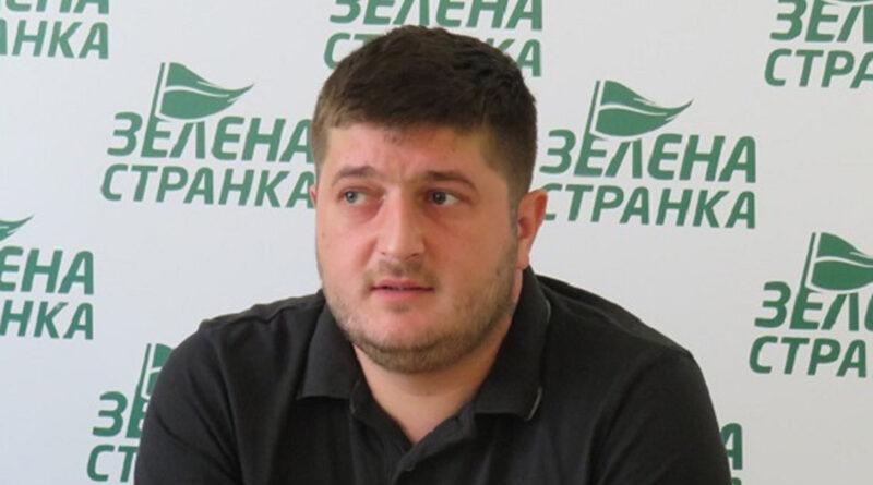 ALEKSANDAR JANKOV, PREDSEDNIK GRADSKOG ODBORA ZELENE STRANKE