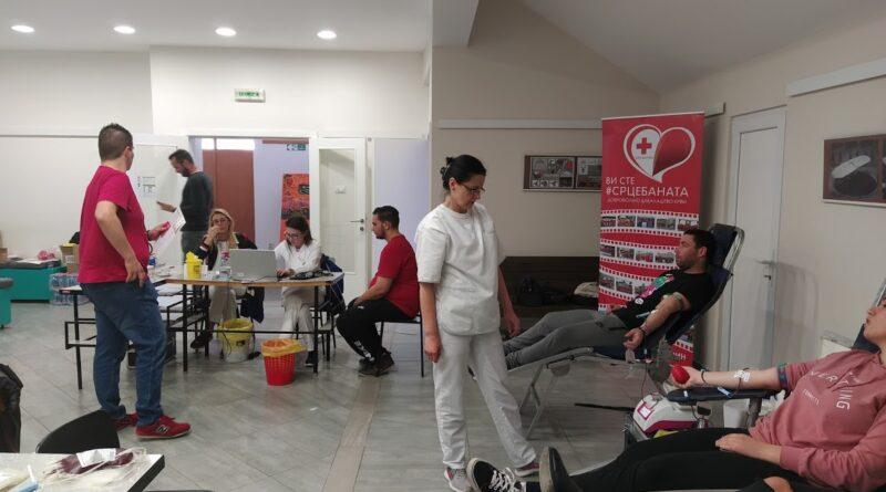 """AKCIJA CRVENOG KRSTA: Dobrovoljno davanje krvi na Tehničkom fakultetu """"Mihajlo Pupin"""""""