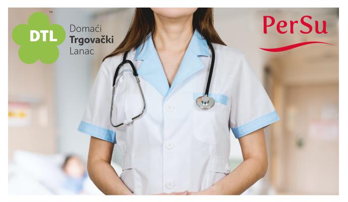 """DONACIJA """"PERSU MARKETA"""" I DOMAĆEG TRGOVAČKOG LANCA: Sredstva za medicinsku opremu"""