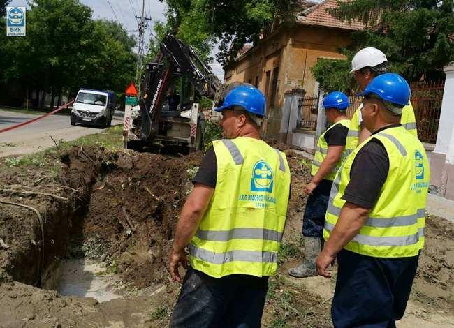 KVAR NA MREŽI: Pojedine ulice bez vode, a negde je mutna i slabog pritiska