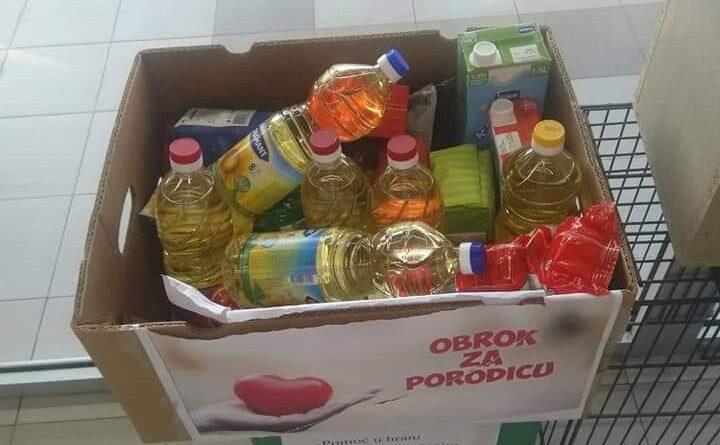"""""""OBROK ZA PORODICU"""": Korpe solidarnosti u """"Maksiju"""" i u nekoliko marketa"""