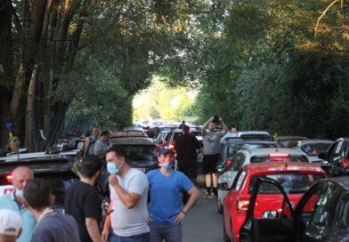"""PETI PROTEST GRAĐANA ZRENJANINA PROTIV """"PREKONA"""" BIO JE NAJMASOVNIJI DO SADA"""