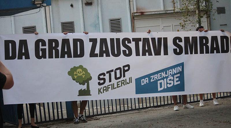 """ODRŽAN JOŠ JEDAN PROTEST GRAĐANA ZBOG SMRADA IZ """"PREKONA"""""""